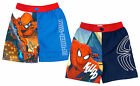 Boys Official Marvel Spiderman Spidey Swim Mesh Lined Shorts 4 to 10 Years