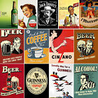 VINTAGE DRINK POSTERS - LARGE A4/A5 POSTER OR FRAMED - FREE UK P £2.99  on eBay