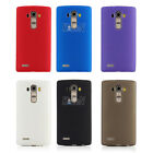 Rubber Soft Matte Surface Gel TPU Silicone Skin Case Cover For LG Mobile Phones