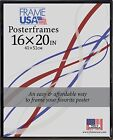 16x20 Poster Frame w/Plexi-Glass and Corrugated Backing - Available in 4 Colors