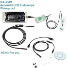 5m 6LED Android Endoscope Waterproof Inspection Camera USB Video Camera For Sale