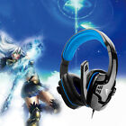 Gaming Headset Surround Stereo Headband Headphone USB LED with Mic for ME333