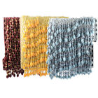 Plastic Beaded Curtain Drapery Trim Tassel Fringe Upholstery Decor