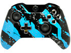 """Blue Splatter"" Xbox One Custom UN-MODDED Controller Exclusive Design"