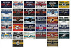 NFL Football Decal Stickers Vintage Banner Complete Set of all 32 Teams Licensed