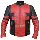 Deadpool Wade Wilson Ryan Reynolds Leather Jacket, All Sizes , Fast Shipping