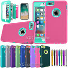 For Apple iPhone 6 6S PLUS Hybrid Rubber Silicone Hard Protective Case Cover