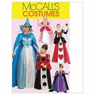 McCalls 5954 Princess Queen of Hearts Witch Costumes Sewing Pattern M5954