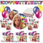Barbie Girls Birthday Party Tableware Kits, Plates, Cups Napkins Decorations