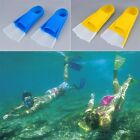 Silicone Swimming Snorkeling Training Short Fins Swim Flippers Youth Adult OE