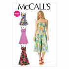 McCalls 7156 Easy Petite Playsuit Jumpsuit Dress Straps Sewing Pattern M7156