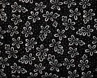 BLACK WHITE COLLECTION DAISY SPOT QUILTING QUILT COTTON FABRIC *Free Oz Post