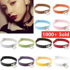 New Classic Gothic Punk Choker Collar Necklace Pendant  Leather Chain Neck Ring