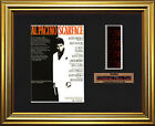SCARFACE    Al Pacino - Michelle Pfeiffer   FRAMED MOVIE FILMCELLS