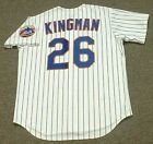 DAVE KINGMAN New York Mets 1975 Majestic Cooperstown Home Baseball Jersey