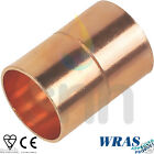 Copper End Feed Fittings - Coupling 15mm or 22mm CE - WRAS - EN1254-1 Approved
