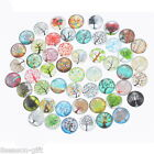 Gift Wholesale Mix Randomly Tree of Life Glass Flatback Dome Cabochons 20mm