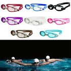 Adjustable Sports Swimming Adult Goggles Anti Fog Silica Gel Glasses New Lx