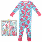 Girls Moshi Monsters All In One Poppet Bows Sleepsuit Romper Onesie 5 - 10 Years
