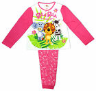 Girls Raa Raa The Noisy Lion Huffy Elephant Zebby Zebra Pyjamas 4 to 5 Years