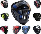 3X Sports Grill Head Guard Face Protector Boxing Protection MMA Training Gear