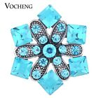 20PCS/Lot Wholesale Vocheng 18mm Blossom Rhinestone Snap Charm Vn-1109*20