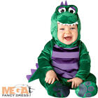 Dinky Dinosaur 0-24 Month Baby Fancy Dress Animal Halloween Boys Toddler Costume