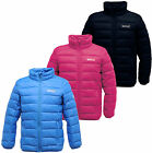 Regatta Junior Iceway Kids Down Filled Jacket Girls & Boys Multi Colours