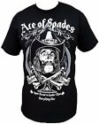 Motorhead Ace Of Spades Band T-Shirt New Rock Tee Free Shipping SM-2X