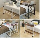 Adjustable Lounge Bed Room Sofa Side Tablet Laptop Study Desk Coffee Table 88 cm