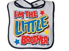 brother rabbit - I'm The LITTLE BROTHER RABBIT SKINS Snap BIB