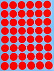 17 mm ~3/4 Inch Color Coding Stickers Small Dot Circular Round Labels 720 Pack
