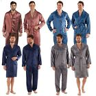 Men's Luxury Silky Satin Printed Pyjama Sets  Sizes M up to 2XL Gift