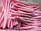 HALAL Smooth Strawberry Pencils - Retro Candy Halal Jelly Sweets - Pick N Mix