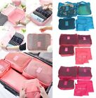 Travel - 6pcs Travel Set Clothes Laundry Secret Storage Bag Packing Luggage Organizer Bag