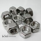 UNC - A2 Stainless Steel Hexagon Full Nuts. Various sizes available.