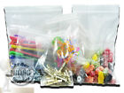 """200 SMALL GRIP SEAL RESEALABLE BAGS SIZE 4 x 5.5"""" 100 X 140mm CLEAR POLYTHENE"""