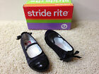 NEW STRIDE RITE Blk Dressy Girls SHOES  Pick Size 10 10.5 11.5 12 NWOB Free Ship