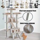 Cat Tree Furniture Scratcher Poles Post Gym House Cat Condo