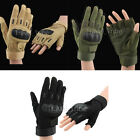 Tactical Military Shooting Outdoor Motorcycle Climbing Full & Half Finger Gloves