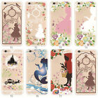 Princess Girl Patterned Transparent TPU Case Cover For Apple iphone SE 6 6S Plus