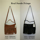 """Lucky Brand,Women's Cross Body handbag,""""REAL SUEDE FRINGE"""".Real Leather.NWT"""