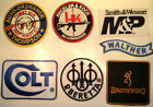 GUN/FIREARMS EMBROIDERED PATCHES: COLT, BERETTA, BROWNING, SIG, UZI + LOADS MORE $6.15 CAD