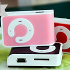 1pc Mini Clip USB MP3 Music Player Support 1-16GB Micro SD TF Memory Cards New