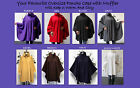 Ultimate Travelers Full Size Plus Size Poncho Cape for Everyone with Muffler