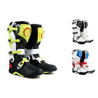 MT8 New Fashion Men Leather Waterproof Colorful Motorcycle Racing Boots All Size