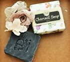Charcoal Soap Moisturizing Soaps Natural No Chemical 120g Free shipping