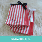 50 LOVE IS SWEET RED STRIPED RETRO CANDY BAGS SHOP BAR SWEETIE BUFFET TABLE
