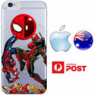iPhone Case Silicone Marvel Comics Spider-man Deadpool Ryan Renold FreshPrint AU