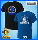 PORTSMOUTH T SHIRT never say die  football sport fc funny T SHIRT small to 5XL